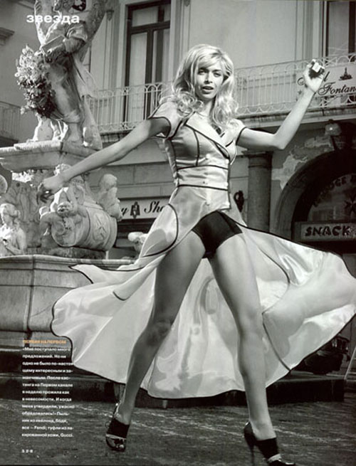 Вера Брежнева сменила Жанну Фриске в рекламе дезодоранта. Фото