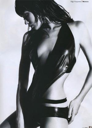 Девушка Бонда Ольга Куриленко в Esquire. Фото