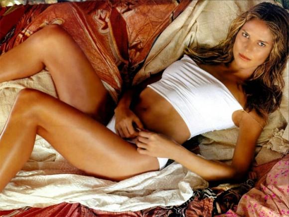 Супермодель Хайди Клум сняла с себя кожу