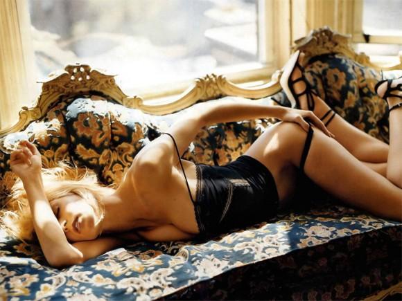 Хайди Клум специально для журнала Elle